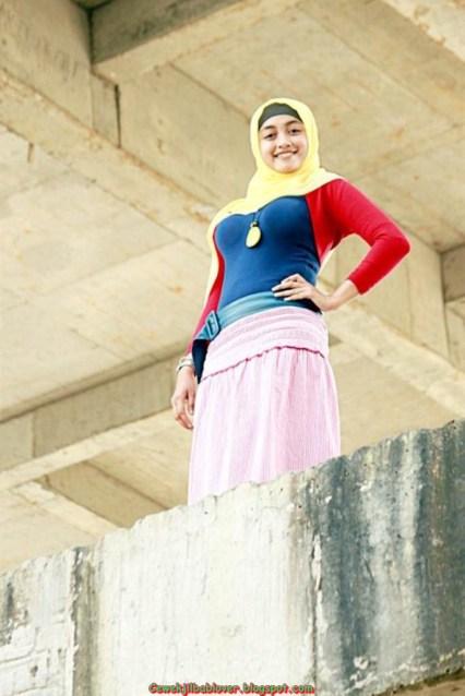 galeri foto gadis abg pake jilbab ketat dan seksi 2014